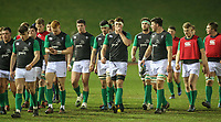 Ireland U20s players leave the field after warming up <br /> <br /> Photographer Alex Dodd/CameraSport<br /> <br /> RBS Six Nations U20 Championship Round 4 - Wales U20s v Ireland U20s - Saturday 11th March 2017 - Parc Eirias, Colwyn Bay, North Wales<br /> <br /> World Copyright &copy; 2017 CameraSport. All rights reserved. 43 Linden Ave. Countesthorpe. Leicester. England. LE8 5PG - Tel: +44 (0) 116 277 4147 - admin@camerasport.com - www.camerasport.com