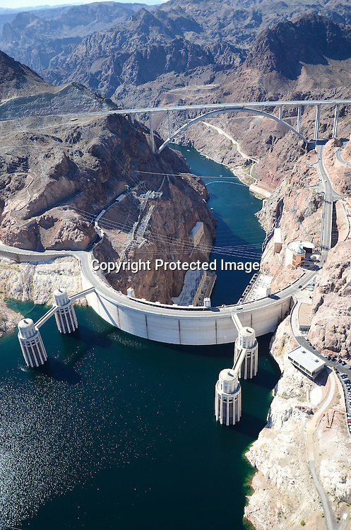 Stock photo of Hoover Dam hydroelectric station
