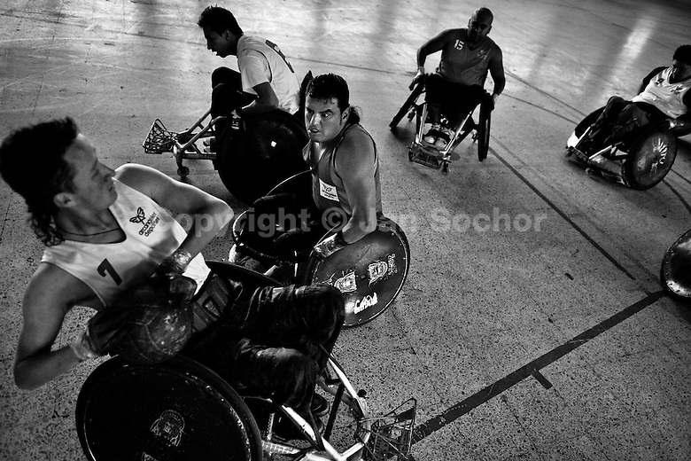 murderball documentary essay Murderball, is a documentary explaining the intense rugby game with its disabled  players in wheelchairs after watching murderball, it opened.