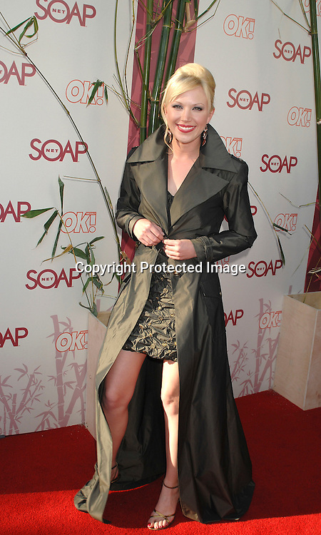 "Adrienne Frantz..arriving at The SOAPnet's ""Night Before Party"" for the ..nominees of the 2007 Daytime Emmy Awards on            June 14, 2007 at Boulevard3 in Hollywood, California...Robin Platzer, Twin Images........212-935-0770"
