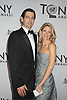 Kelli O'Hara  and guest attends th 66th Annual Tony Awards on June 10, 2012 at The Beacon Theatre in New York City.