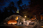 Grotto on the campus of The University of Notre Dame