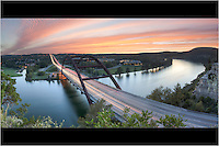 Panoramas from Austin, Dallas, Fort Worth, and other locales
