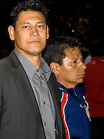 Chivas USA head coach Martin Vazquez. The Colorado Rapids defeated the Chivas USA 1-0 at Home Depot Center stadium in Carson, California on Friday evening March 26, 2010.  .