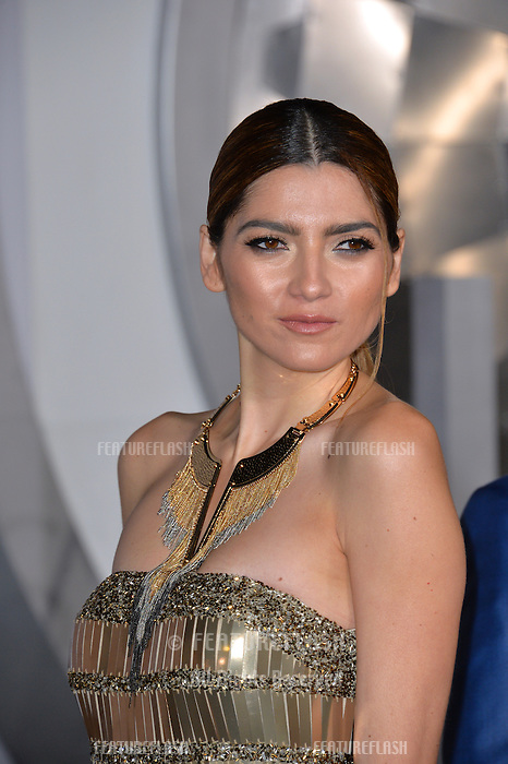 Actress Blanca Blanco at the world premiere of &quot;Passengers&quot; at the Regency Village Theatre, Westwood. <br /> December 14, 2016<br /> Picture: Paul Smith/Featureflash/SilverHub 0208 004 5359/ 07711 972644 Editors@silverhubmedia.com
