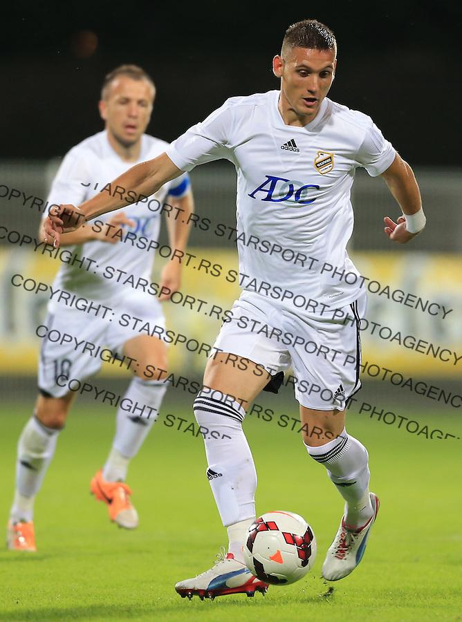 Fudbal Football Soccer<br /> UEFA Europa league-Second qualifying round, First leg<br /> Cukaricki v Grodig Austria<br /> Nikola Stojiljkovic<br /> Beograd, 07.17.2014.<br /> foto: Srdjan Stevanovic/Starsportphoto &copy;