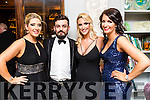 Adrienne Walsh, Colum O'Shea, Kelly O'Connor, Gemma Kissane, pictured at Pieta House Masquerade Ball on Friday night last held in the Rose Hotel, Tralee.