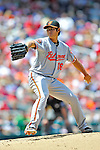 20 May 2012: Baltimore Orioles pitcher Wei-Yin Chen on the mound against the Washington Nationals at Nationals Park in Washington, DC. The Nationals defeated the Orioles 9-3 to salvage the third game of their 3-game series. Mandatory Credit: Ed Wolfstein Photo