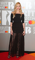 Fearne Cotton at The BRIT Awards 2017 at The O2, Peninsula Square, London on February 22nd 2017<br /> CAP/ROS<br /> &copy; Steve Ross/Capital Pictures /MediaPunch ***NORTH AND SOUTH AMERICAS ONLY***