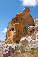 Rock Houses of Cauvsin,  Cappadocia Turkey