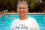 Leon Barish, President of the Friends of Deep Eddy at Deep Eddy Pool, Austin, Texas, June 2006.