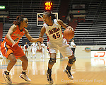 Ole Miss' Bianca Thomas (45) vs. Auburn in women's college basketball at the C.M. &quot;Tad&quot; SMith Coliseum in Oxford, Miss. on Thursday, February 25, 2010.