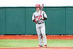 21 February 2015: Hartford's Erik Ostberg. The Iona College Gaels played the University of Hartford Hawks in an NCAA Division I Men's baseball game at Jack Coombs Field in Durham, North Carolina as part of the Duke Baseball Classic. Hartford won the game 12-1.