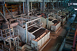 JWANENG, BOTSWANA - SEPTEMBER 24: An overview of the processing plant at Jwaneng, the richest diamond mine in the world on September 24, 2009 in Jwaneng, Botswana. It's owned by Debswana, a partnership between the De Beers Company and the government of Botswana. The mine employs about 3000 people and is also processing ore for the mine as well as two of Debswana's other mines. The truck can carry about 245 tons of ore each time. The mine operates 24 hours a day, all year around. Diamond wealth has brought lots of revenues to Botswana, including an impressive infrastructure such as roads and free education up to university. (Photo by Per-Anders Pettersson)...