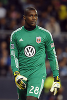 Bill Hamid (28) goalkeeper D.C Utd..Sporting Kansas City defeated D.C Utd 1-0 at Sporting Park, Kansas City, Kansas.