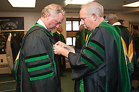John Brumsted, M.D., left, Ira Bernstein, M.D. Class of 2012 commencement.