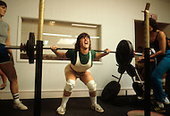 San Francisco, CA &ndash; August 28th 1982<br /> The first Gay Olympic game, the weight lifting competition.