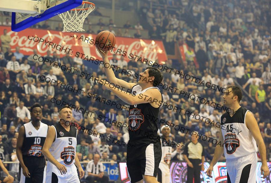 Kosarka season 2014-2015<br /> Partizan-Grobari za nas-Revijalni Mec<br /> Veselin Petrovic (C)<br /> Beograd, 11.03.2015.<br /> foto: Srdjan Stevanovic/Starsportphoto&copy;
