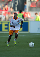 July 28, 2012: Houston Dynamo defender Warren Creavalle #5 in action during a game between Toronto FC and the Houston Dynamo at BMO Field in Toronto, Ontario Canada..The Houston Dynamo won 2-0.