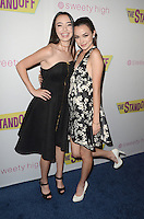 """LOS ANGELES, CA - SEPTEMBER 8: Veronica Merrell and Vanessa Merrell at """"The Standoff"""" Premiere at Regal Cinemas in Los Angeles, California on September 8, 2016. Credit: David Edwards/MediaPunch"""