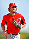 3 March 2011: Washington Nationals' outfielder Jayson Werth in action during a Spring Training game against the St. Louis Cardinals at Roger Dean Stadium in Jupiter, Florida. The Cardinals defeated the Nationals 7-5 in Grapefruit League action. Mandatory Credit: Ed Wolfstein Photo