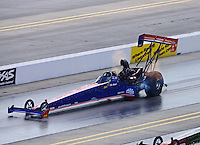 Sept. 15, 2012; Concord, NC, USA: NHRA top fuel dragster driver Ike Maier during qualifying for the O'Reilly Auto Parts Nationals at zMax Dragway. Mandatory Credit: Mark J. Rebilas-
