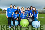 Kerry College of Further Education held a Students V Teachers 'Face Off' Obstacle Course and Tug of War event to mark Wellness week in aid of Pieta House. Pictured front l-r Matthew Marchatti, Raymond Nolan, Back l-r Peter McGoven, Maeve Kennelly, Siobhan Coffey, Teacher, Brenda McEvoy, Karen O'Sullivan, Brittany O'Rourke, Shannon Daly, Noreen O'Sullivan,