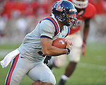Ole Miss quarterback Barry Brunetti (11) vs. Georgia at Sanford Stadium in Athens, Ga. on Saturday, November 3, 2012.