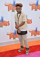 LOS ANGELES, CA. October 23, 2016: Actor Mar Mar at the Los Angeles premiere of &quot;Trolls&quot; at the Regency Village Theatre, Westwood.<br /> Picture: Paul Smith/Featureflash/SilverHub 0208 004 5359/ 07711 972644 Editors@silverhubmedia.com
