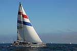 sailing Monterey Bay