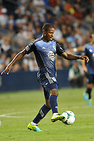 Sporting Park, Kansas City, Kansas, July 31 2013:<br /> Patrice Bernier (10) midfield  MLS All-Stars in action.<br /> MLS All-Stars were defeated 3-1 by AS Roma at Sporting Park, Kansas City, KS in the 2013 AT &amp; T All-Star game.