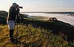 Photographing Theodore Roosevelt National Park, North Dakota at sunrise