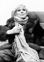 Marianne Faithfull pictured in1974.  Credit: Ian Dickson/MediaPunch