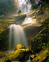 Siripbum Waterfall, Doi Inthanon National Park, Thailand    Forests and waterfalls of Nort