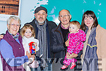 Damian, Sinead, Livy and Abigail Fleming Germany were welcome home for Christmasin Tralee  by Patsy and Mary at Kerry airport on Monday