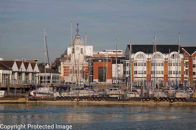 Southampton Docks and Marina, England, UK