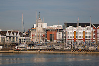 Southampton Docks and Marina, England, UK