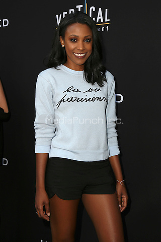 HOLLYWOOD, CA - JULY 11: Meagan Holder at the premiere of Undrafted at the Arclight in Hollywood, California on July 11, 2016. Credit: David Edwards/MediaPunch