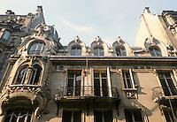 Jules Lavirotte: Private mansion, Paris. (Now Italian Lycee, Rue Sedillot.)  1899.