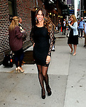 """Celebrities Visit """"LateShow with David Letterman"""" September 22, 2011"""
