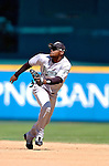 5 September 2005: Luis Castillo, second baseman for the Florida Marlins, during a game against the Washington Nationals. The Nationals defeated the Marlins 5-2 at RFK Stadium in Washington, DC. Mandatory Photo Credit: Ed Wolfstein.