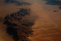 January 18, 2012 - A view of Earth from a flight from New York To Kona, Hawaii.