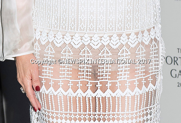 28.03.2017; London, UK: NANCY DELL'OLIO <br /> wears a see-thru outfit when she attended a fundraising gala at the National Portrait Gallery, London<br /> Mandatory Photo Credit: &copy;Francis Dias/NEWSPIX INTERNATIONAL<br /> <br /> IMMEDIATE CONFIRMATION OF USAGE REQUIRED:<br /> Newspix International, 31 Chinnery Hill, Bishop's Stortford, ENGLAND CM23 3PS<br /> Tel:+441279 324672  ; Fax: +441279656877<br /> Mobile:  07775681153<br /> e-mail: info@newspixinternational.co.uk<br /> Usage Implies Acceptance of OUr Terms &amp; Conditions<br /> Please refer to usage terms. All Fees Payable To Newspix International
