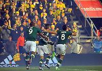 Columbus, Ohio. - Sunday, December 6, 2015: The Portland Timbers defeated Columbus Crew SC 2-1 to win the 2015 MLS (Major League Soccer) Cup Championship at Mapfre stadium.