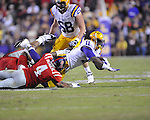 Ole Miss vs. LSU running back Spencer Ware (11) at Tiger Stadium in Baton Rouge, La. on Saturday, November 17, 2012. LSU won 41-35.....