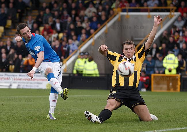 Nicky Clark goes close