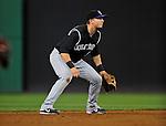 15 August 2008: Colorado Rockies' shortstop Troy Tulowitzki in action against the Washington Nationals at Nationals Park in Washington, DC.  The Rockies edged out the Nationals 4-3, handing the last place Nationals their 8th consecutive loss. ..Mandatory Photo Credit: Ed Wolfstein Photo