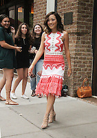 NEW YORK, NY-August 01`:  Karen Fukuhara intown to promote Warner Bros. & DC  Suicide Squad in New York. NY August 01, 2016. Credit:RW/MediaPunch