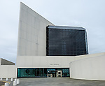 The John F. Kennedy Library and Museum in Dorchester, Boston, Massachusetts, USA