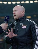 FUSSBALL  CHAMPIONS LEAGUE  VIERTELFINALE  HINSPIEL  2012/2013      FC Bayern Muenchen - Juventus Turin       02.04.2013 Matthias Sammer (FC Bayern Muenchen) im Interview